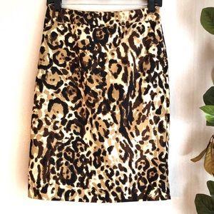 Leopard print Merona skirt